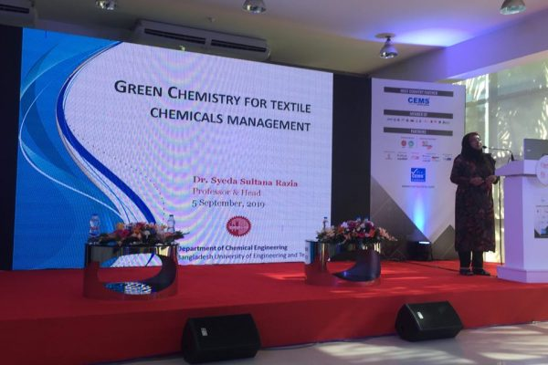 Seminar on Green Chemistry for Textile Chemical Management