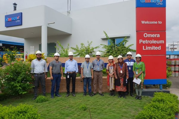 Visit on Omera Petroleum and exchange views on Process Safety and OHS